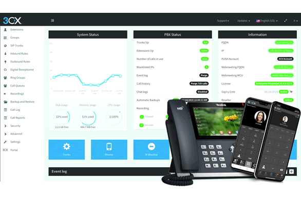 3CX® - VOIP Telefonanlage in der Cloud